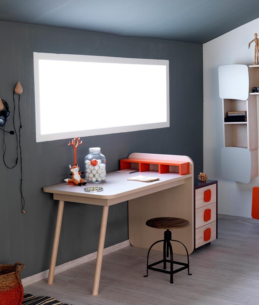 Μίνιμαλ παιδικά δωμάτια-γραφειο