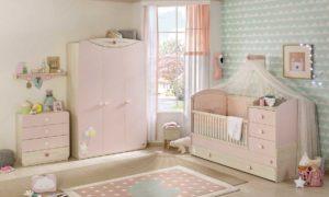 babygirl ροζ κουνια