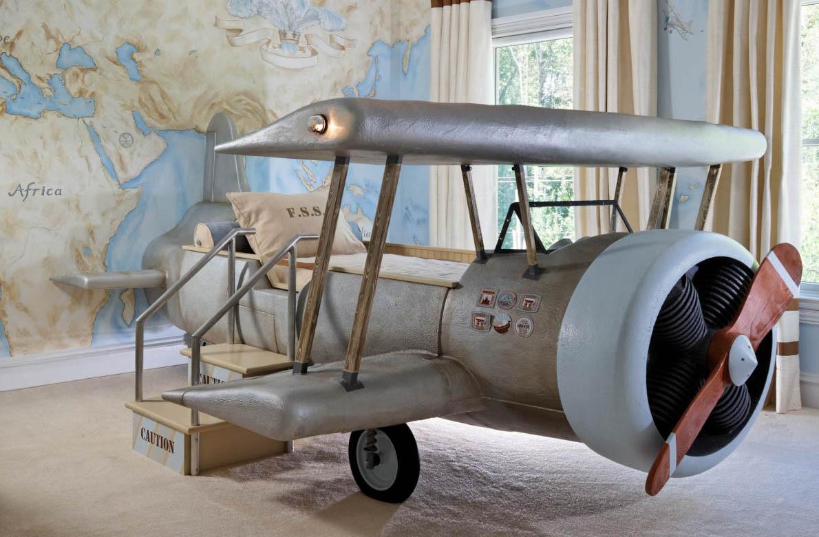 Ιδέες παιδικό δωμάτιο αεροπλάνο