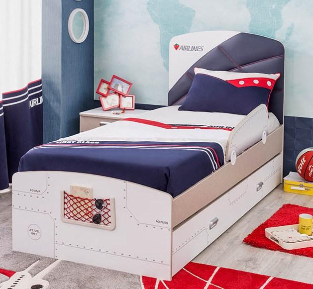 Παιδικό κρεβάτι αεροπλανo First Class
