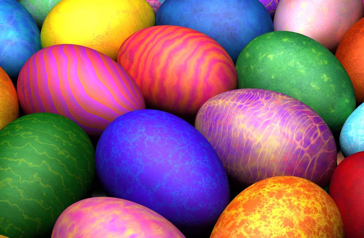 Πως θα βάψουμε αυγά με οικολογικό τρόπο