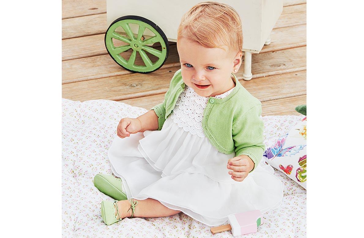 Βρεφικά ρούχα πράσινες αποχρώσεις