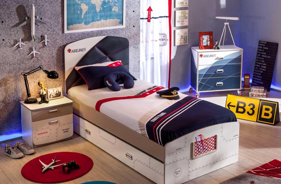 b2ec22bf1aa Μια ακόμη καταπληκτική ιδέα για να σχεδιάσετε και να διακοσμήσετε το  παιδικό-εφηβικό δωμάτιο αγοριών, είναι το θέμα αεροπλάνο. Παιδικό και  εφηβικό δωμάτιο ...