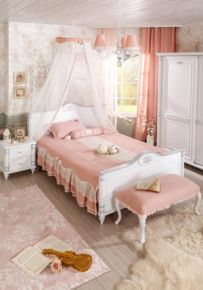 b3fe3238f0f Ρομαντικό-δωμάτιο-για-τις-εφηβες-στα-χρώματα-του-σάπιου-μήλου ...