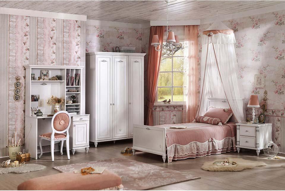 Ρομαντικο δωματιο & στυλ για κοριτσια