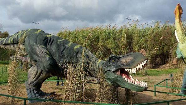 Πάρκο Δεινοσαύρων  στην Αθήνα στο Πολιτιστικό Πάρκο
