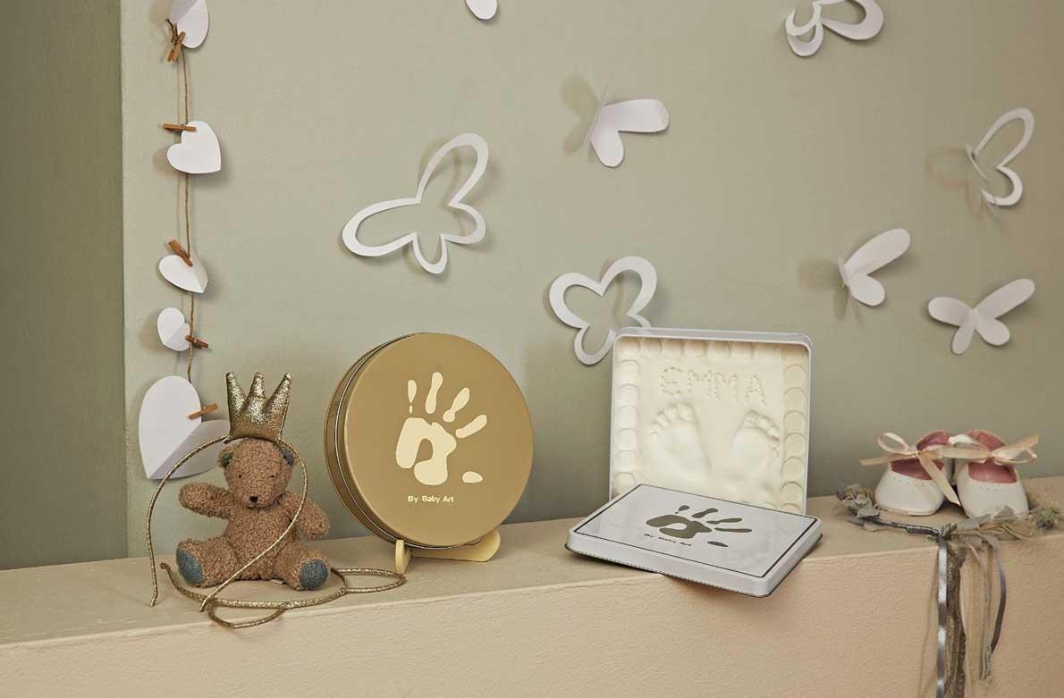 Διακόσμηση παιδικού δωματίου με μοναδικά αποτυπώματα