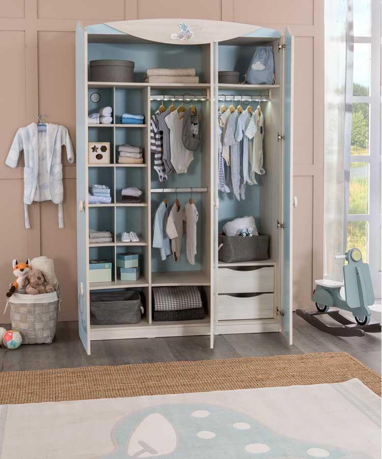 2f0cb40270b Βρεφικη ντουλάπα -γαλαζια επιπλα για μωρα - Περιοδικό για το παιδί ...