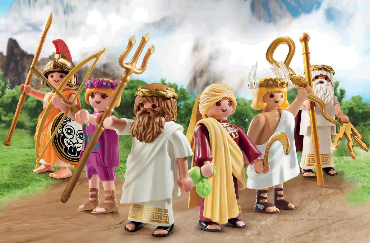 Εξι Θεοί του Ολύμπου στα χέρια των παιδιών