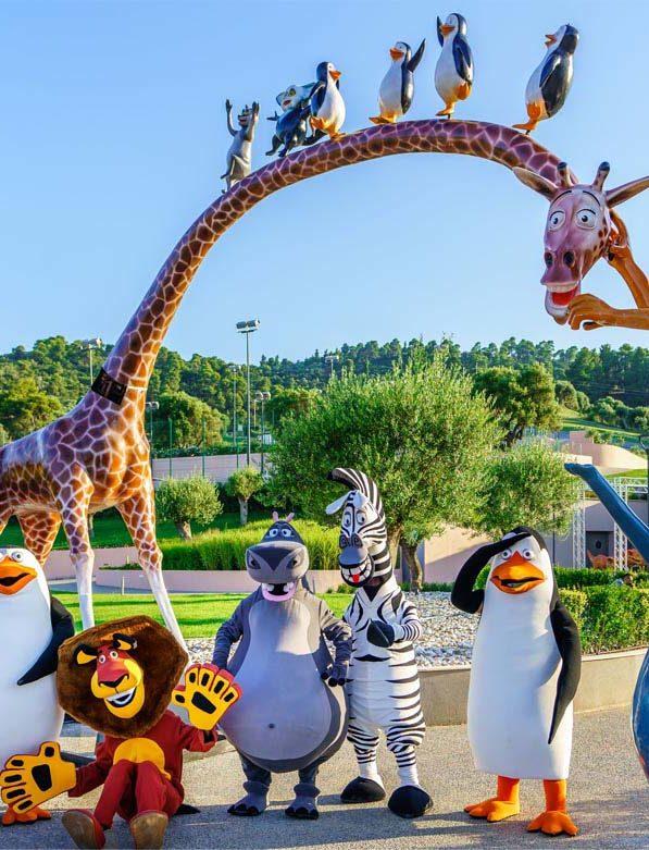 Παιδικό πάρκο ψυχαγωγίας στη Χαλκιδική