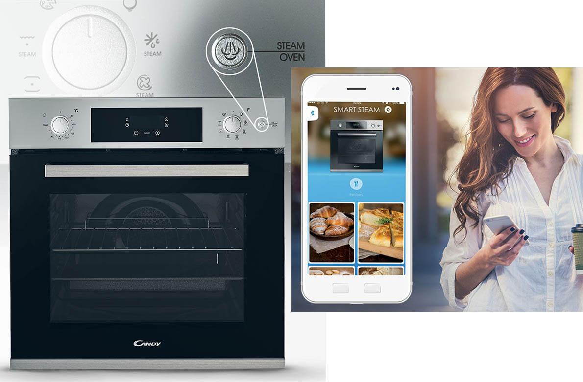 2 Νέοι φούρνοι Smart Steam από την Candy για καλύτερη ζωή με ατμό!
