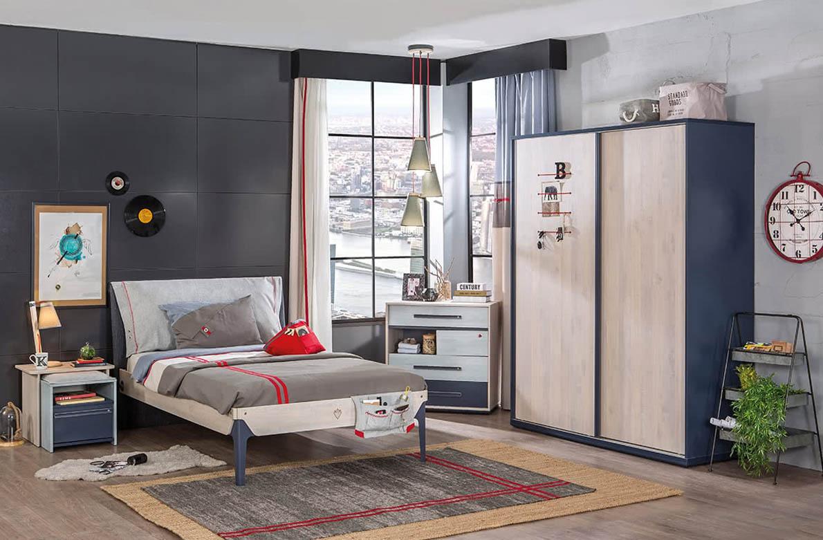 Εφηβικό δωμάτιο μοντέρνα έπιπλα