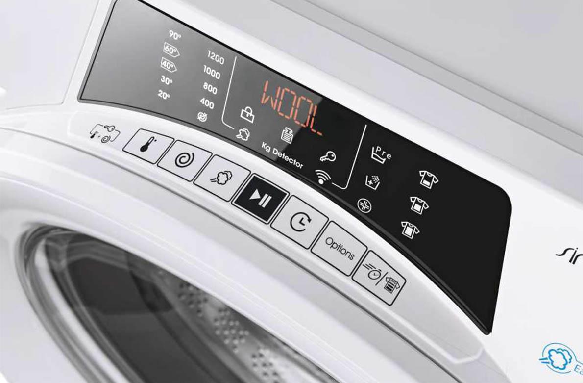 ο πλυντήριο που αποφασίζει πώς θα τα πλύνει!