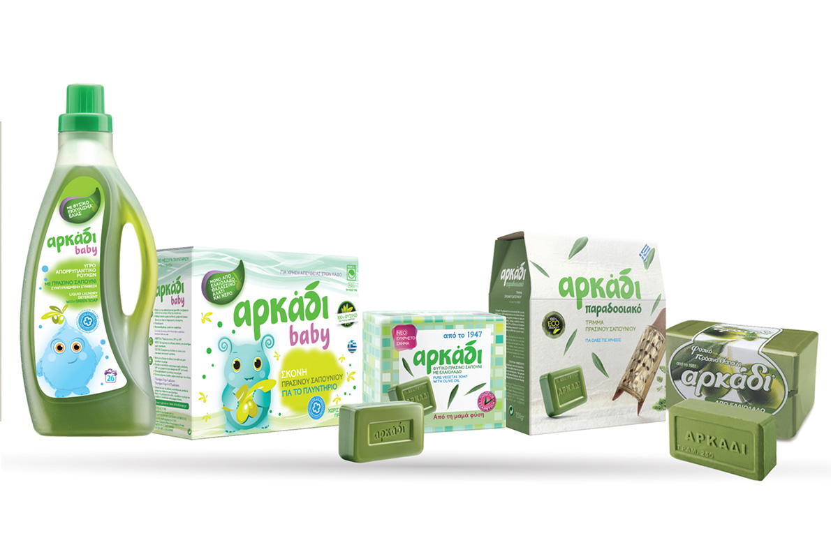 Πράσινο σαπούνι Αρκάδι